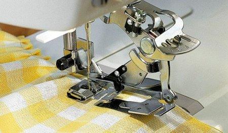 Husqvarna Faltenlegerfuß Modell 5, 6, 7  (Plissierapparat)