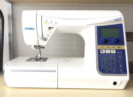 Juki  DX 7 Computernähmaschine aus unserer Ausstellung