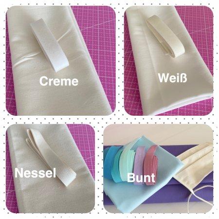 Materialpaket f. 5 Nasen-Mund-Masken
