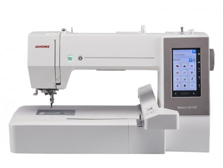 Janome MC 550 E Stickmaschine