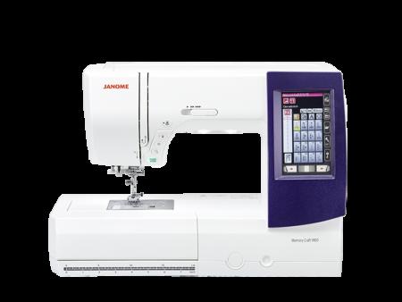 Janome MC 9850 Stickmaschine
