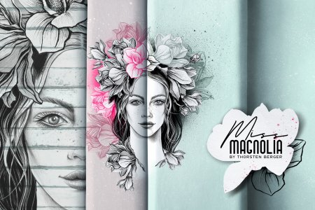 Miss Magnolia by Thorsten Berger