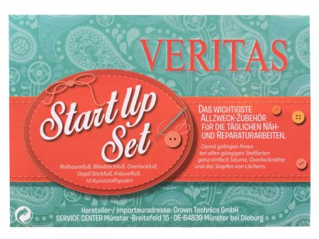 Veritas Füßchenset StartUp 6-teilig