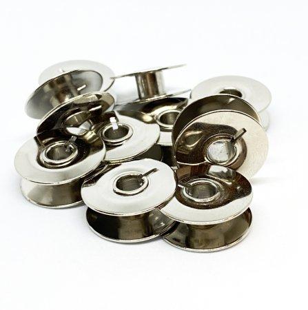 Spule PFA metall flach Rundlauf 10er