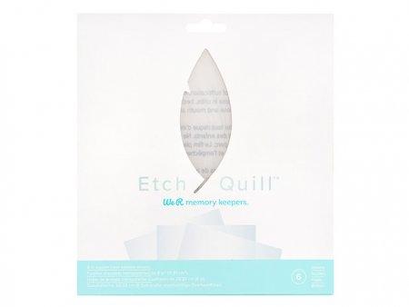 WR Etch Quill Plastikblätter klar