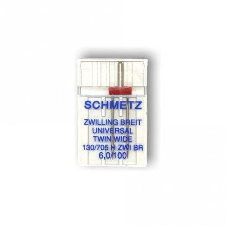 Schmetz Nadeln ZWI Univ. 6,0/100 1er