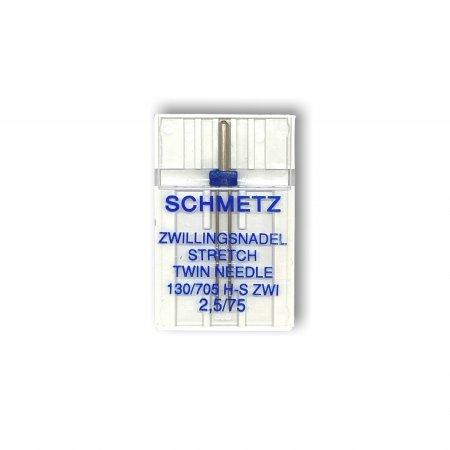 Schmetz Nadeln ZWI STR. 2,5/75 lose