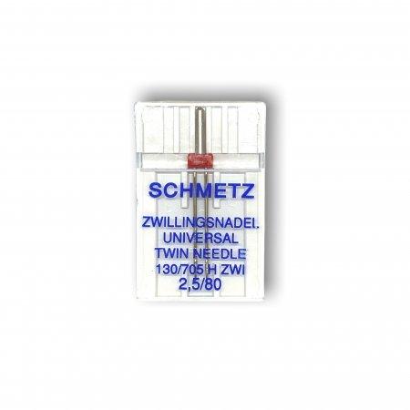 Nadeln Schmetz ZWI Univ. 2,5/80 5er