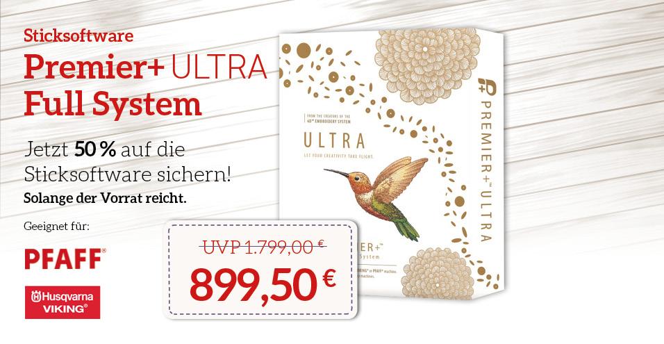 Angebot Sticksoftware Premier+ ULTRA