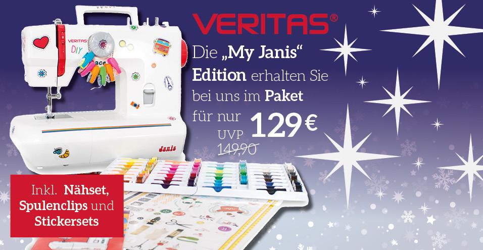 """my Janis"" Edition Paket von VERITAS –90 Teile"