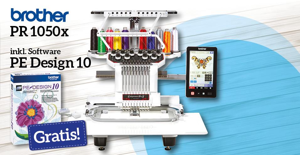 brother PR 1050x inkl. PE Design10