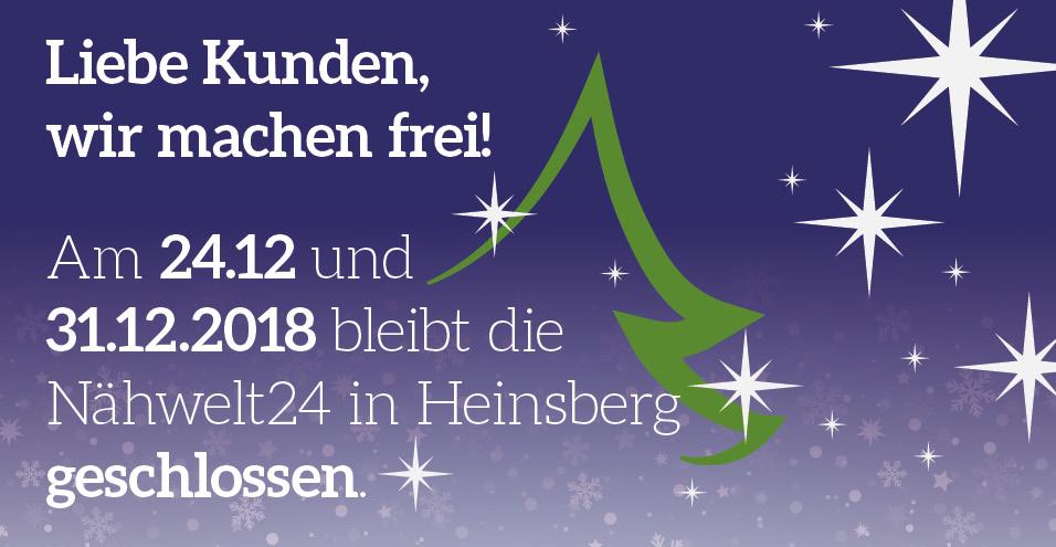Die Nähwelt24 in Heinsberg macht frei!