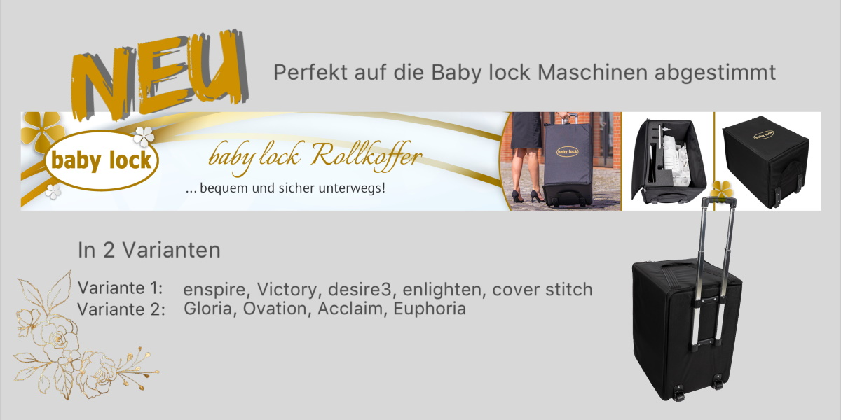 baby lock Rollkoffer